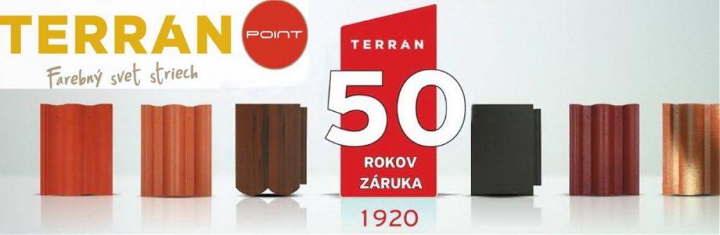 50 rokov záruka Terran